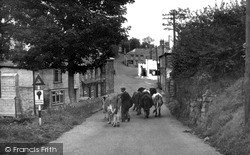 St Agnes, Town Hill c.1955