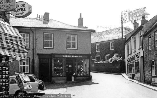 Photo of St Agnes, Webb's Stores c.1960