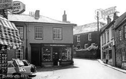 St Agnes, Webb's Stores c.1960