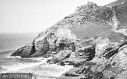St Agnes, White Rock, Chapel Porth c.1955
