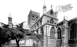 St Albans, Cathedral And Abbey Church And Cedar Tree 1921