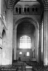 St Albans, Cathedral And Abbey Church Interior c.1885