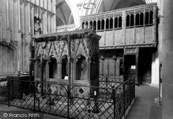 St Albans, Cathedral And Abbey Church, Shrine Of St Alban c.1960