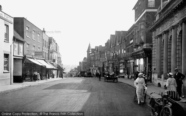 Photo of St Albans, Chequer Street 1921, ref. 70481