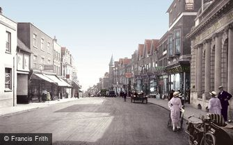 St Albans, Chequer Street 1921
