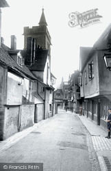 St Albans, French Row 1921