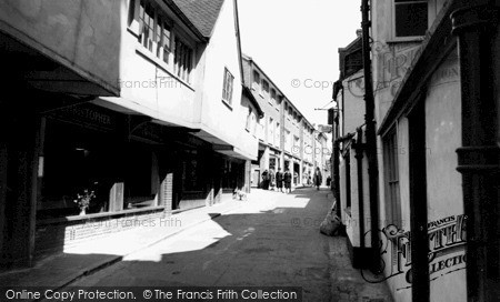 Photo of St Albans, French Row c1955, ref. S2025