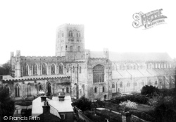 St Albans, From The North 1886