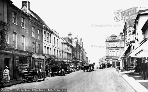 Photo of St Albans, High Street 1921, ref. 70476