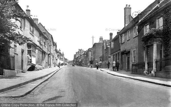 Photo of St Albans, Holywell Hill 1921, ref. 70479