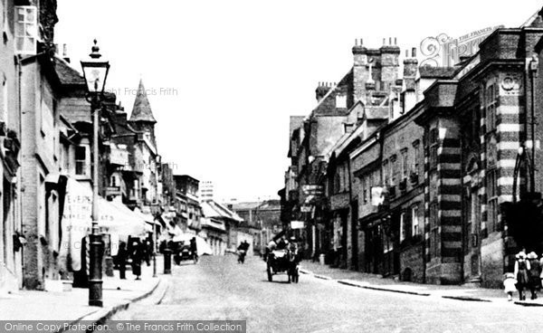 Photo of St Albans, Holywell Hill 1921