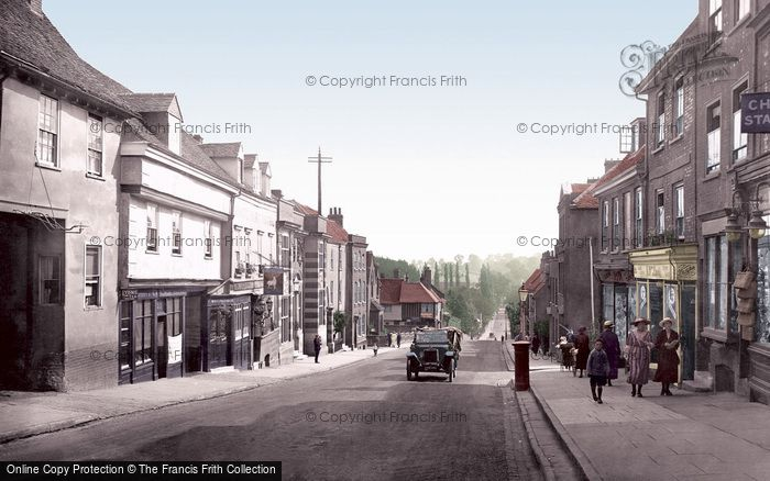 St Albans, Holywell Hill 1921