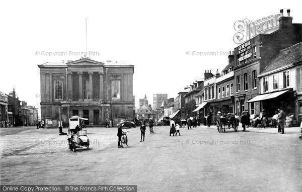 Photo of St Albans, Market Place 1921, ref. 70475