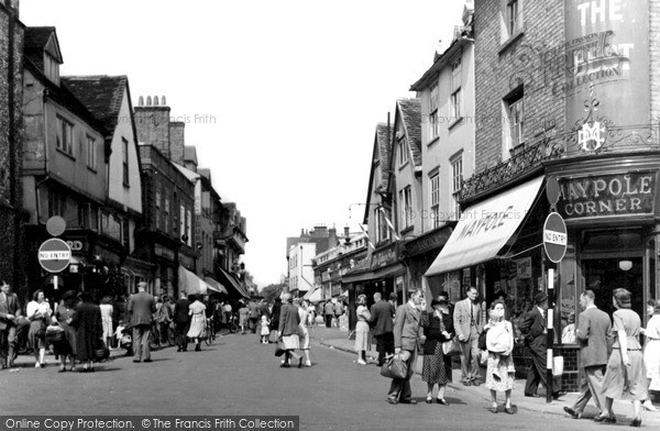 Photo of St Albans, Market Place c1950, ref. S2075