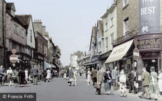 St Albans, Market Place c1950