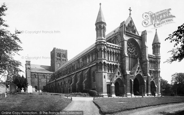 Photo of St Albans, the Abbey 1921, ref. 70455