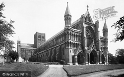 St Albans, The Cathedral And Abbey Church 1921