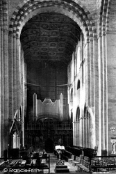 St Albans, The Cathedral And Abbey Church, Choir West c.1885