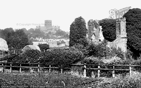 Photo of St Albans, the Cathedral and Sopwell Nunnery 1921, ref. 70482