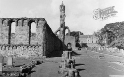 Cathedral 1953, St Andrews