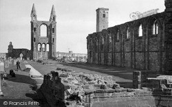 Cathedral c.1950, St Andrews