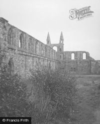 Cathedral c.1953, St Andrews