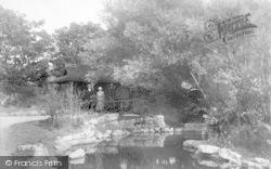 St Anne's, Ashton Gardens, A Corner Of The Lake 1916