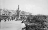 St Anne's, Promenade Gardens And Lifeboat Memorial 1913