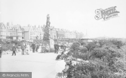 St Anne's, Promenade Gardens And Lifeboat Memorial 1913