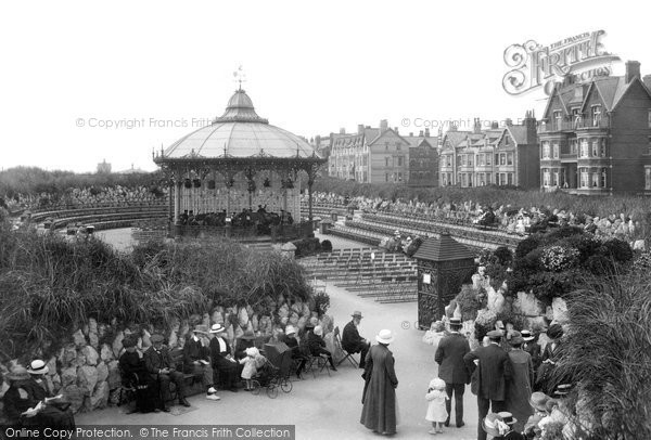 St Anne's, The Bandstand 1914