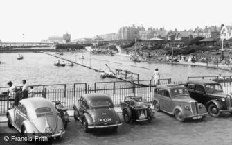 St Anne's, the Boating Pool c1960