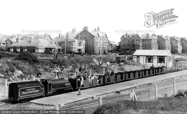 St Anne's, The Miniature Railway c.1960