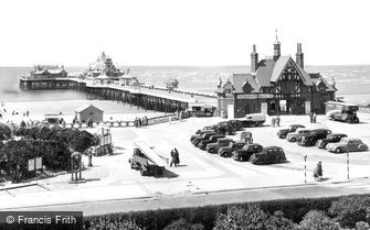 St Anne's, the Pier c1955