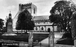 Cathedral, From North-West c.1935, St Asaph