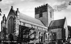 Cathedral, South-West c.1935, St Asaph