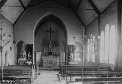 Catholic Church Interior 1892, St Asaph