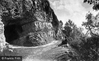 St Asaph, Cefn Caves c1875