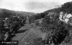 Cefn Valley From The Cave c.1875, St Asaph