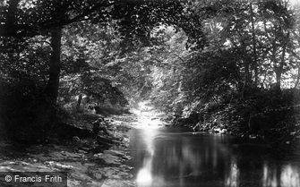 St Asaph, Elwy River, Cefn c1875