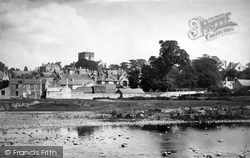 From The River Elwy 1890, St Asaph