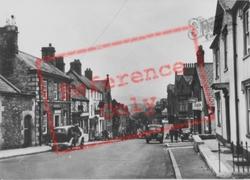 St Asaph, High Street c.1955