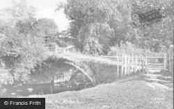 Pont Dafydd c.1890, St Asaph