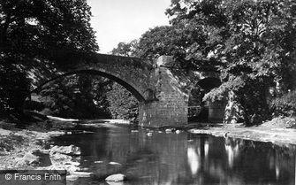 St Asaph, Pont Newydd, Cefn c1875