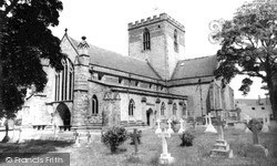 St Asaph, The Cathedral c.1960