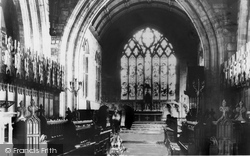 The Cathedral Choir 1890, St Asaph