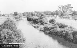 The River Elwy c.1965, St Asaph
