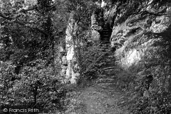 The Steps To The Cefn Caves 1891, St Asaph