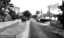 Upper Denbigh Road c.1960, St Asaph