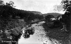 View From Pont Newydd, Cefn c.1875, St Asaph