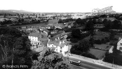 View From The Cathedral Tower c.1965, St Asaph